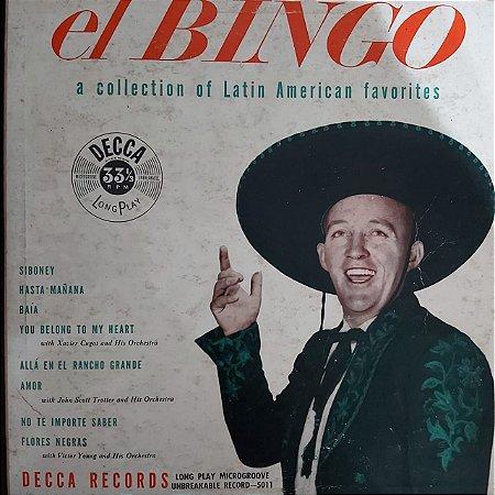 """LP - Bing Crosby – El Bingo - A Collection Of Latin American Favorites (Importado Us) (10"""")"""