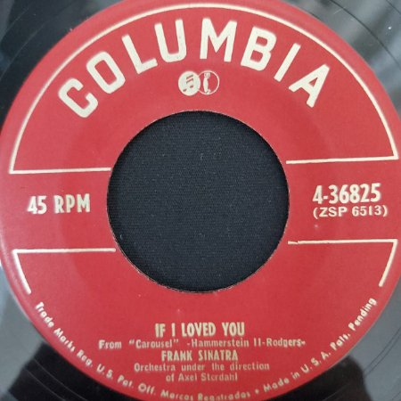 COMPACTO - Frank Sinatra – You'll Never Walk Alone / If I Loved You (Importado US)