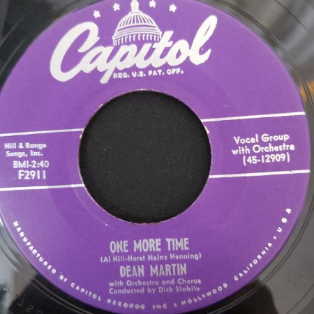 COMPACTO - Dean Martin – One More Time / Try Again (Importado US)
