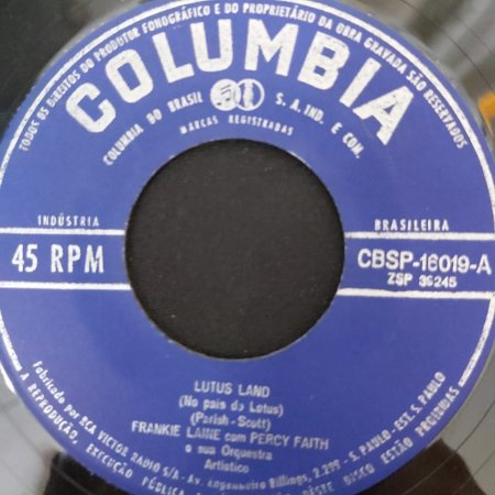 COMPACTO - Frankie Laine - Moonlitht Gambler / Lutus Land