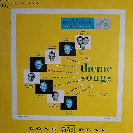 """LP - Theme Songs (Vários Artistas) (Importado US) (10"""")"""