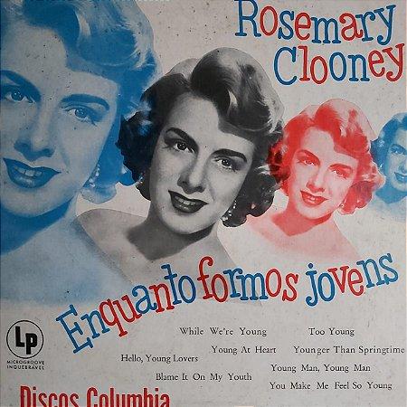 """LP - Rosemary Clooney - Enquanto Formos Jovem (10"""")"""