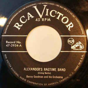COMPACTO - Benny Goodman - Alexander's Ragtime Band / Tiger Rag