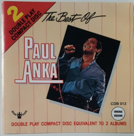 CD - Paul Anka – The Best Of (Importado)