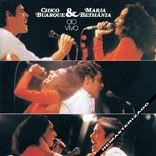 LP - Chico Buarque & Maria Bethânia Ao Vivo