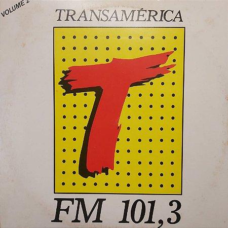 LP - Transamérica FM 101,3 vol 2 (Vários Artistas) (Disco Mix Promocional)