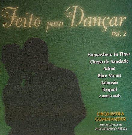 CD - Orquestra Commander - Feito Para Dançar 2