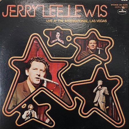 LP - Jerry Lee Lewis – Live At The International, Las Vegas (Importado US)