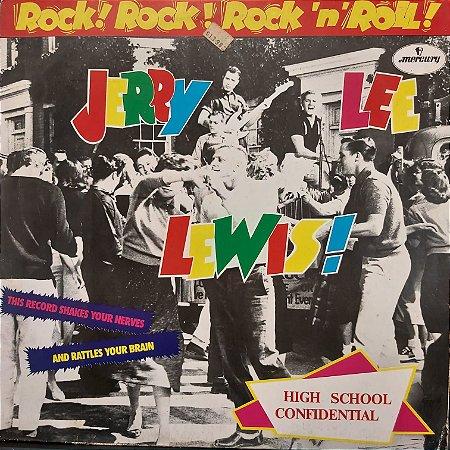 LP - Jerry Lee Lewis – Rock! Rock ! Rock 'n' Roll! (Importado Germany)