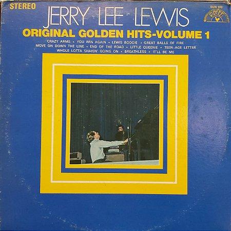 LP - Jerry Lee Lewis – Original Golden Hits - Volume 1 (Importado US)