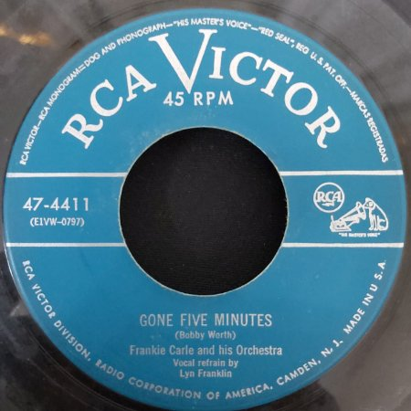 """COMPACTO - Frankie Carle - Gone Five Minetes / Plaese (Importado US) (7"""")"""