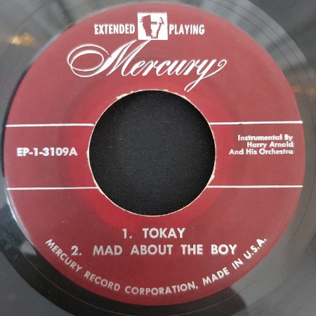 """COMPACTO - Tokay / Mad About The Boy / Dearest Love / If Love Were All - (Importado US) (7"""")"""