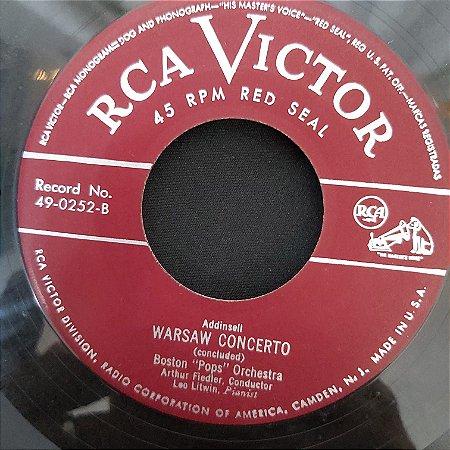 """COMPACTO - Addinsell - Warsaw Concerto - Part 1 / Warsaw Concerto - Concluded (Importado US) (7"""")"""