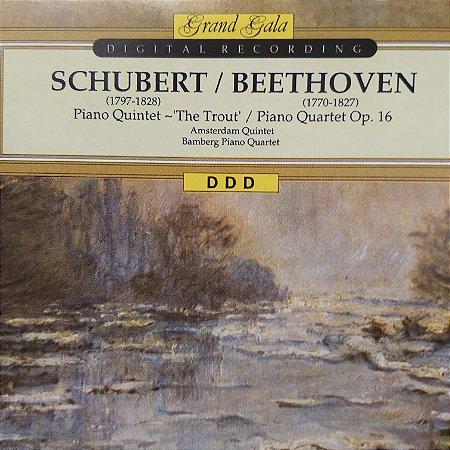 CD - Franz Schubert - Ludwing Van Beethoven (Coleção Grand Gala)