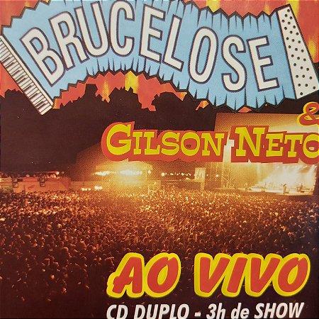 CD - Brucelose e Gilson Neto - Ao Vivo (CD Duplo)
