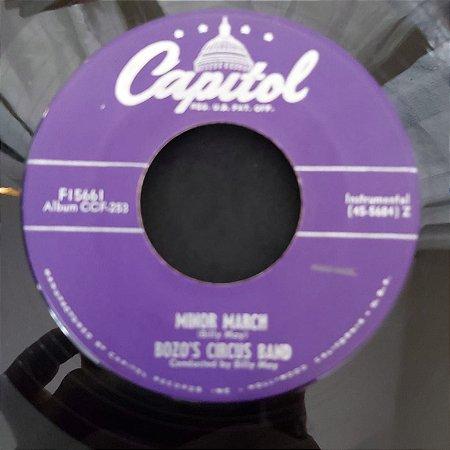 COMPACTO - Bozo's Circus Band - Minor March / Hippotamus Rag (Importado US)