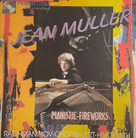 CD - Jean Müller - Pianistic-Fireworks