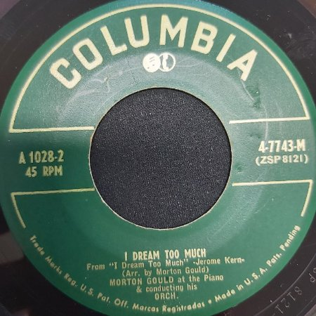 COMPACTO - Morton Gould - I Dream Too Much / IT Might As Well Be Spring (Importado USA)