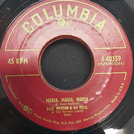 COMPACTO - Paul Weston And His Orchestra - The Song From Desirre / Maria, Maria, Maria (Importado USA)