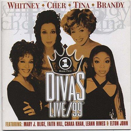 CD - Various - DIVAS LIVE/99 - IMP