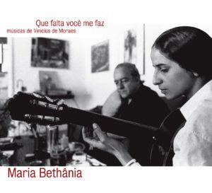 CD - Maria Bethânia - Que falta você me faz  (Digipack)