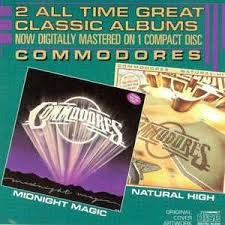 CD - Commodores - Natural High - Midnight Magic - IMP