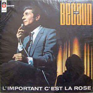 CD - Gilbert Becaud - L'important c'est la rose - IMP