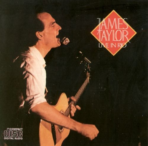 CD - James Taylor - Live in Rio