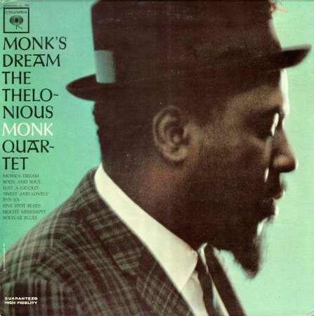 CD - The Thelonious Monk Quartet - Monk's Dream