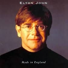 CD - Elton John -  Made In England