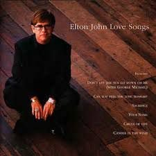 CD - Elton John - Love Songs - IMP