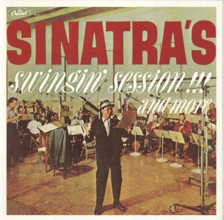 CD - Frank Sinatra - Sinatra's Swingin' Session!!! And More - IMP