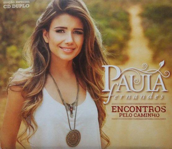 CD - Paula Fernandes - Encontros Pelo Caminho  (Digipack)