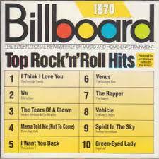 Various - Billboard Top Rock 'N' Roll Hits -  1970