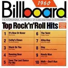 CD - Various - Billboard Top Rock 'N' Roll Hits 1960 - IMP