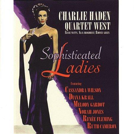 CD - Charlie Haden Quartet West - Sophisticated Ladies