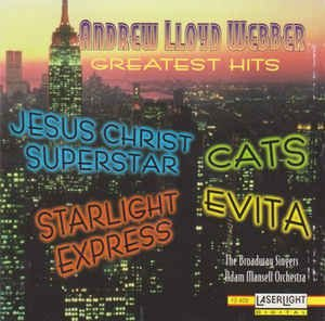 CD - Andrew Lloyd Webber Greatest Hits - IMP