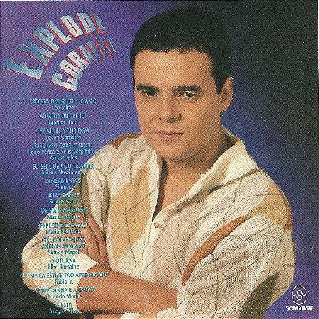 CD - Explode Coração Nacional (Novela Globo (Vários Artistas)