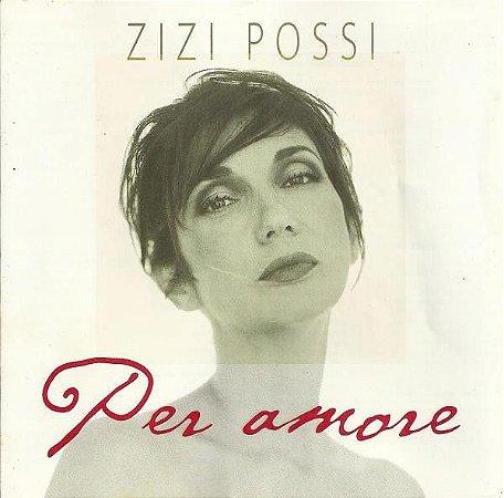 CD - Zizi Possi - Per Amore