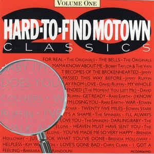 CD - Various - 20 Hard To Find Motown Classics Vol. 1 -IMP
