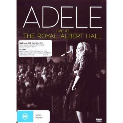 DVD - Adele - Live at the Royal Albert Hall CD + DVD (Digipack)