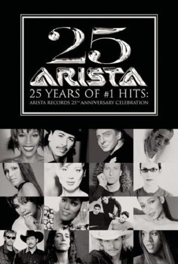 DVD - ARISTA RECORDS - 25Th Anniversary Celebration