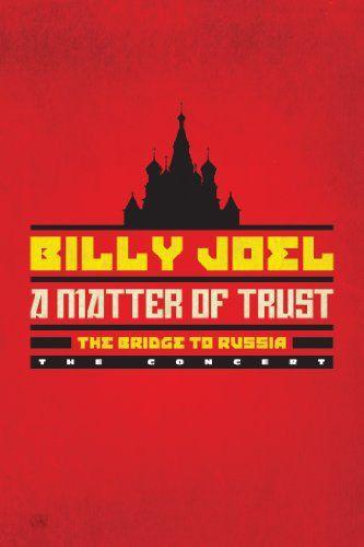DVD - BILLY JOEL - A matter of trust - The bridge to Russia.