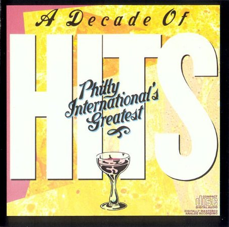 CD - Various ‎– Ten Years Of # 1 Hits (A Decade Of Hits - Philly International's Greatest) - IMP