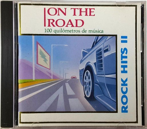 CD - Various - On The Road - Rock Hits II