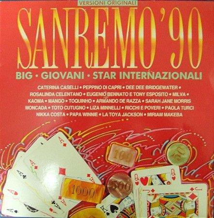 CD - Various - Sanremo '90  - IMP