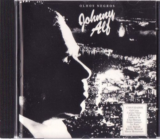 CD - Johnny Alf - OLHOS NEGROS