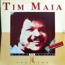 CD - Tim Maia - Minha História - 14 Sucessos