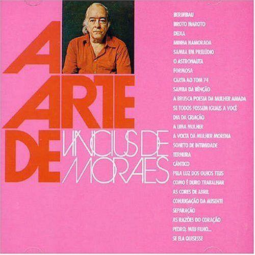 CD - Vinícius De Moraes - A Arte De Vinícius De Moraes