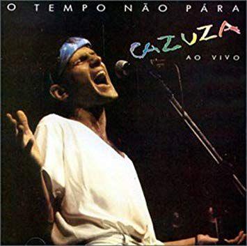 CD - Cazuza - O Tempo Não Pára Cazuza Ao Vivo